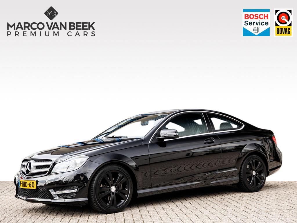 Mercedes-benz C-klasse C 180 coupé amg aut.  navi xenon