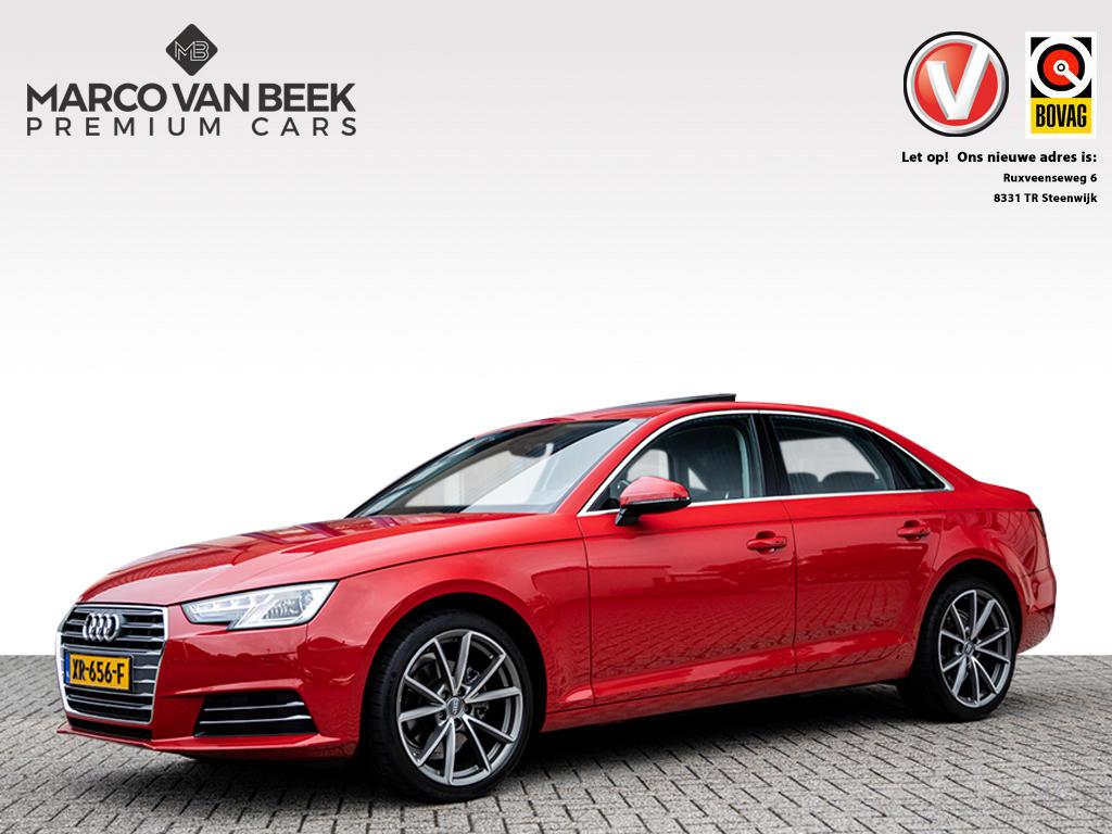 Audi A4 1.4 tfsi sport aut. keyless go leer pdc verkocht