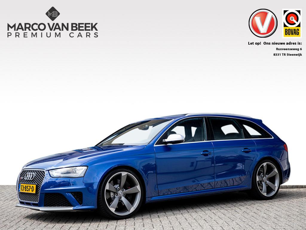 Audi A4 Avant 4.2 fsi rs4 quattro 450 pk pano 20 inch schaalstoelen