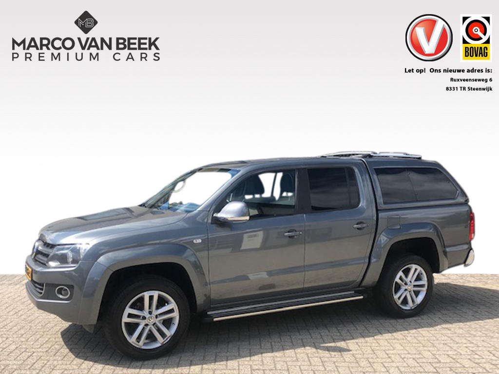 Volkswagen Amarok 2.0 tdi 4 motion plus highline trekhaak navi