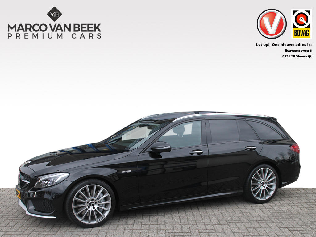 Mercedes-benz C-klasse Estate c 43 amg estate 4m pano keyless sportuitlaat nw.pr €108.058