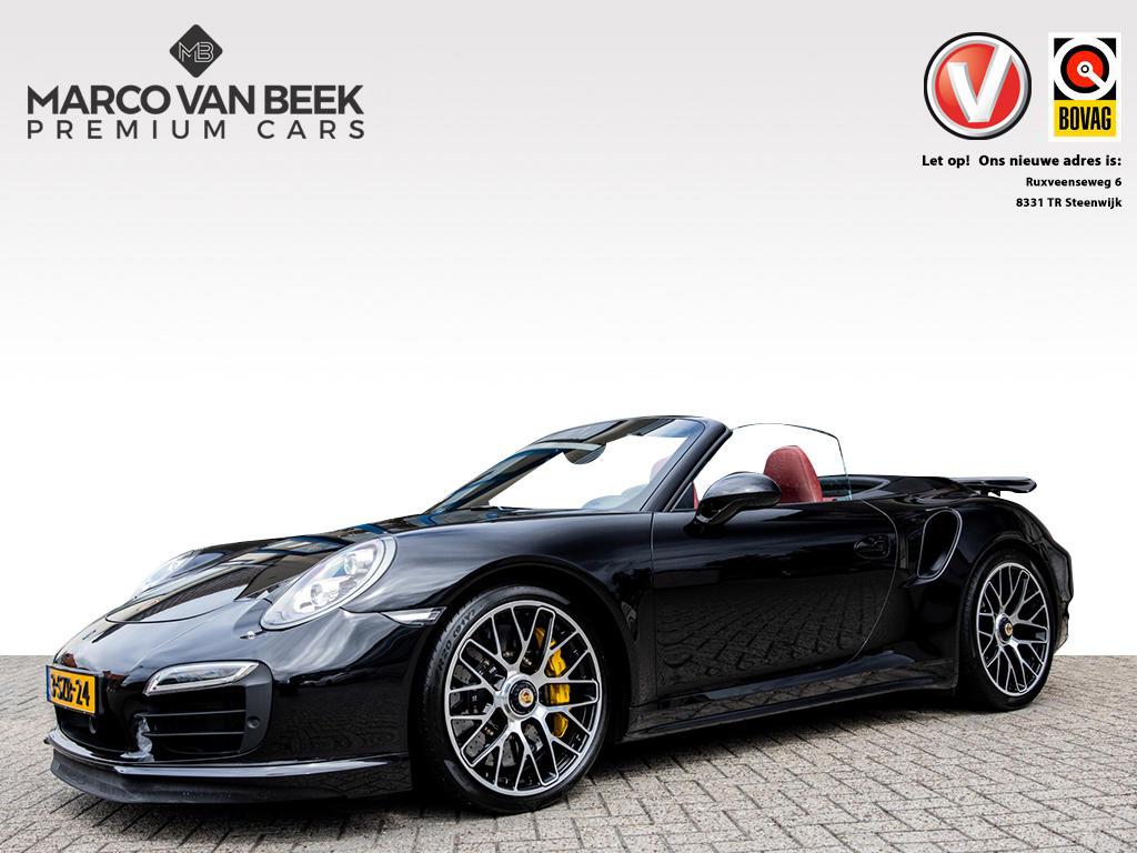 Porsche 911 Cabrio 3.8 turbo s pdk burmester nl auto keyless go
