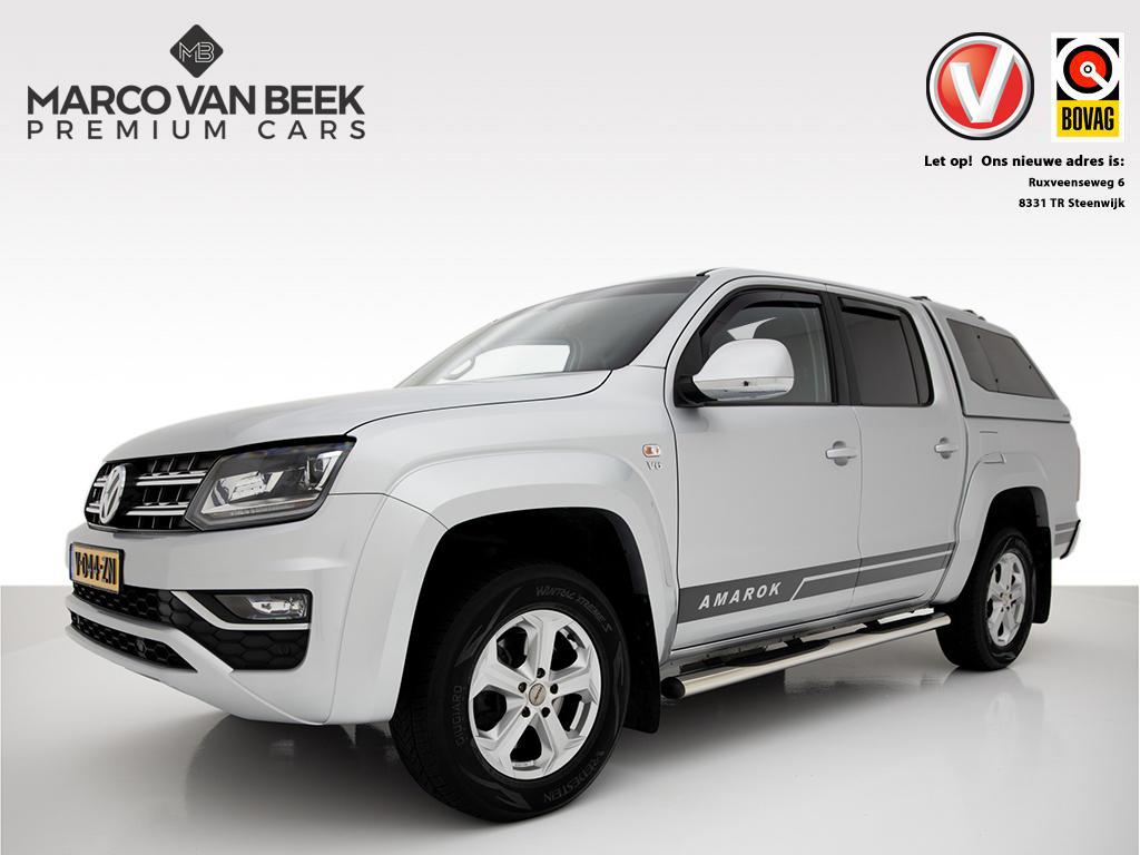 Volkswagen Amarok 3.0 tdi 4motion aut. nw. prijs € 47.340 ex btw plus cab highline trekhaak leer navi xenon