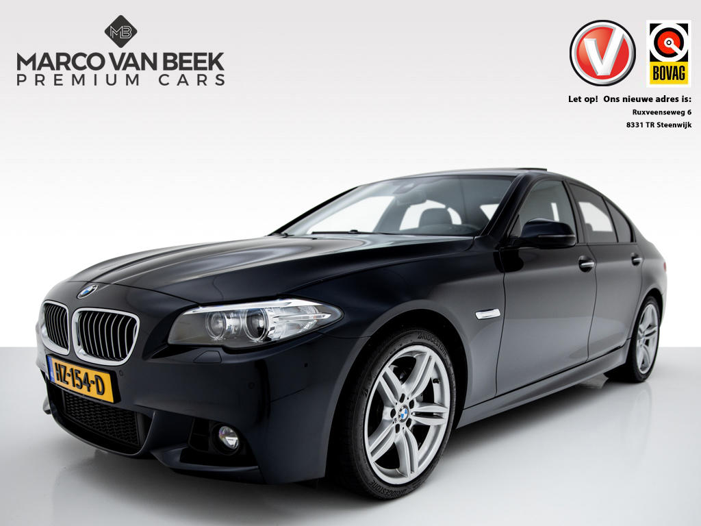Bmw 5 serie 525 xdrive aut. m-pakket dak leer keyless navi nw.pr. € 81.119