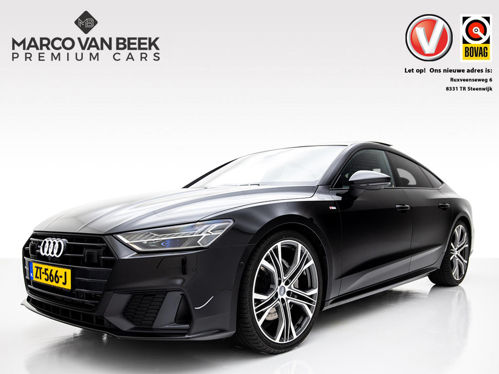 Audi A7 Sportback 50 tdi quattro s-line b&o-high laser-led pano lucht 21-inch nw.prijs € 137.777