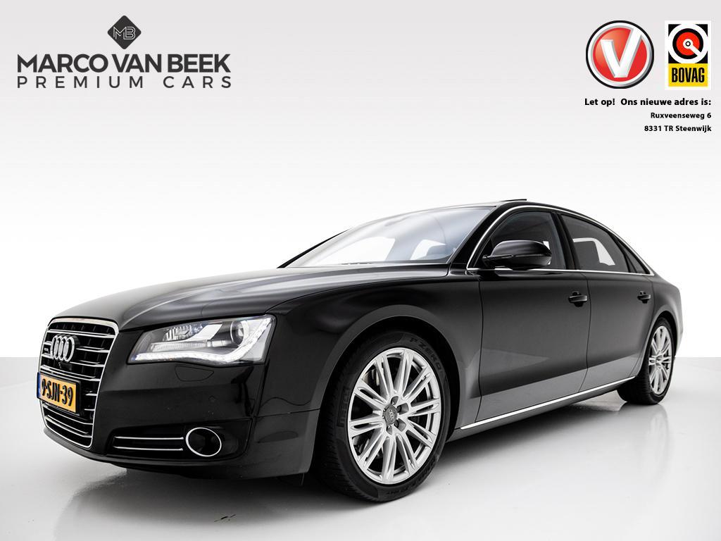 Audi A8 4.2 tdi quattro lang mmi navi plus, comfortstoelen v+a, gescheiden climate v+a, camera v+a, nachtzicht nw.prijs € 120.289,-