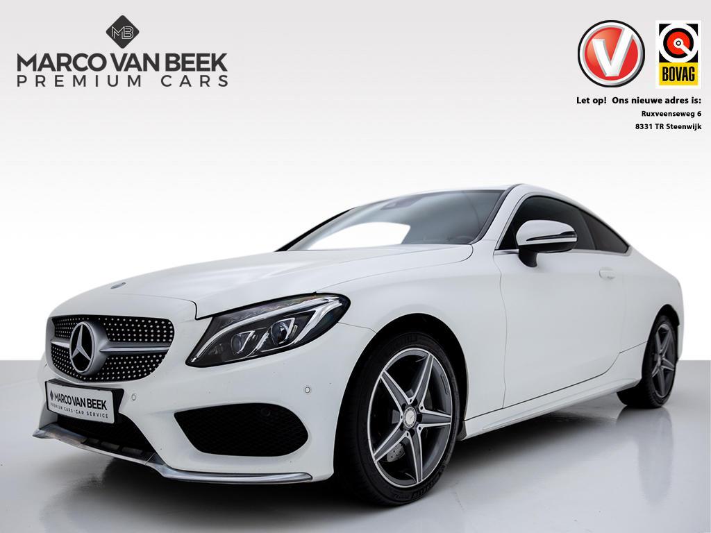 Mercedes-benz C-klasse Coupé c 250 d aut. nw.prijs € 65.260 btw amg led leder navi 18 inch
