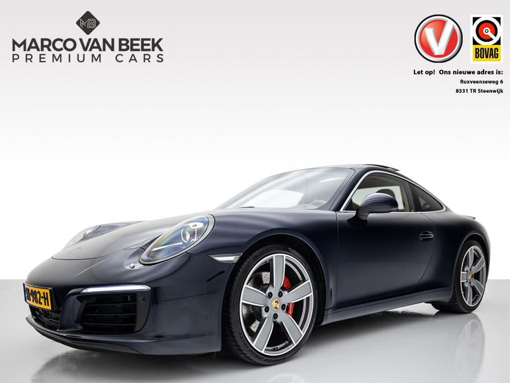Porsche 911 3.0 carrera s pdk nw.pr. € 156.702 991 mk2 navi acc alcantara hemel