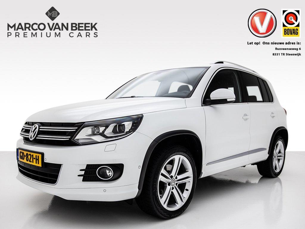 Volkswagen Tiguan 2.0 tdi track&field 4motion nw.prijs € 55.894 btw camera xenon 18 inch