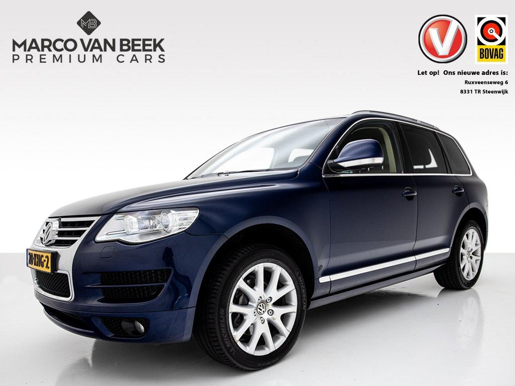 Volkswagen Touareg 3.0 v6 tdi highline nw.prijs € 104.028 luchtvering, voorverwarming, park pakket, xenon, leder verkocht