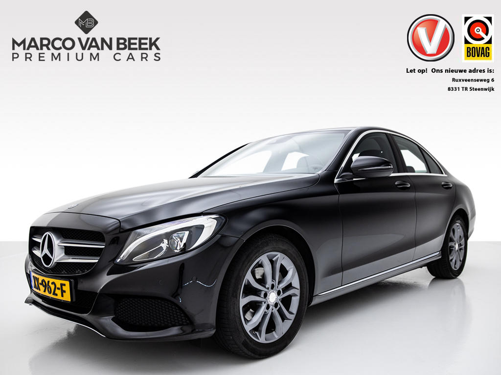 Mercedes-benz C-klasse 200 cdi premium plus nw.prijs € 50.641 navi cruise climate