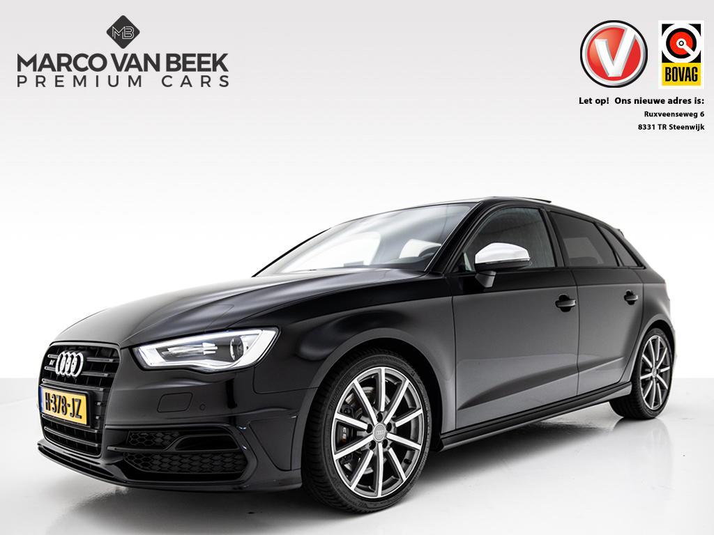 Audi A3 Sportback 2.0 tfsi s3 quattro nw. prijs € 56.007 b&o handgeschakeld pano