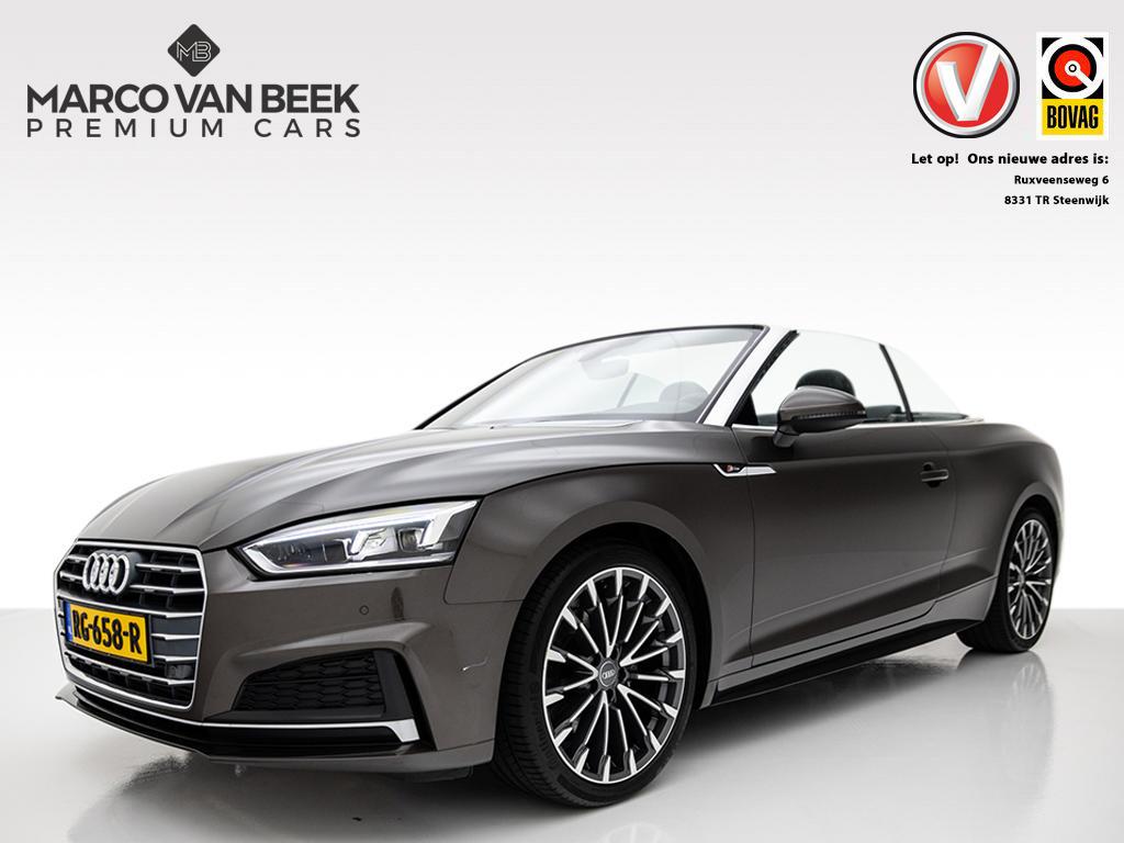 Audi A5 Cabriolet 2.0 tfsi mhev s-line nw. prijs € 65.878 mmi plus led nekverwarming