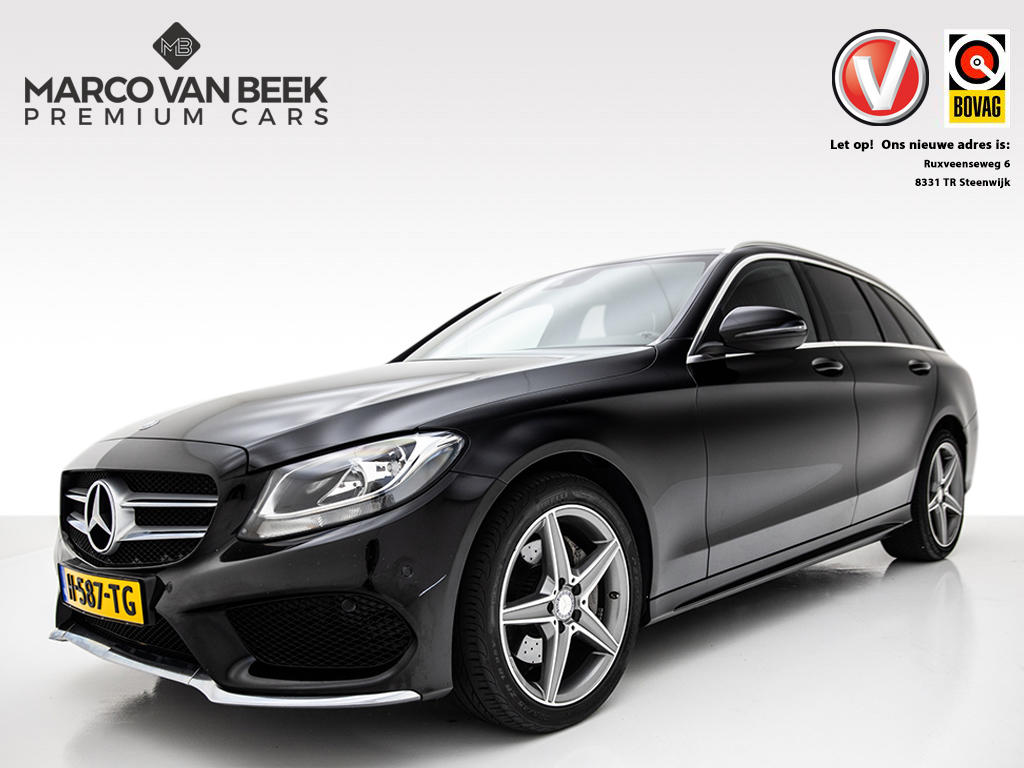 Mercedes-benz C-klasse Estate 220 cdi 4-matic amg nw. prijs € 65.807 comand memory burmester