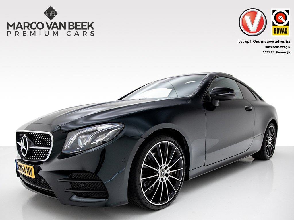 Mercedes-benz E-klasse Coupé 220 d amg nw. prijs € 66.455 pano climate carbon btw