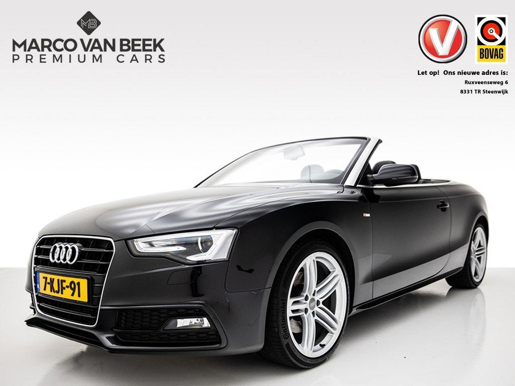 Audi A5 Cabriolet 1.8 tfsi pro line s nw. prijs €56.394 s-line stoelverwarming nekverwarming navi