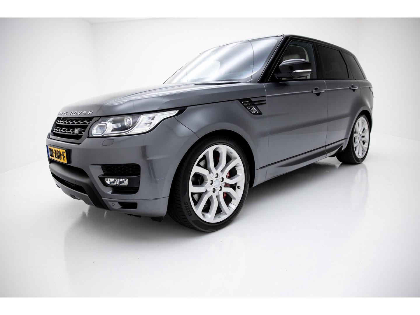"Land rover Range rover sport 5.0 v8 supercharged autobiography dynamic nw. prijs €205.981 meridian 22"" inch memory"