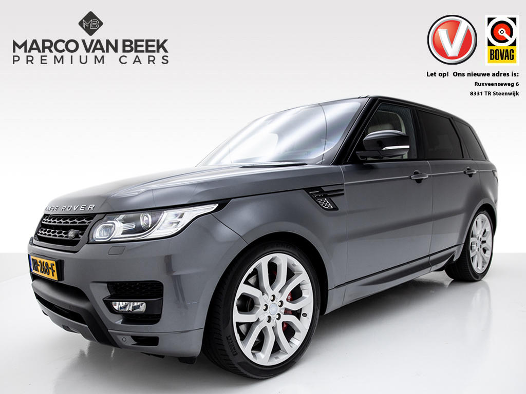 """Land rover Range rover sport 5.0 v8 supercharged autobiography dynamic nw. prijs €205.981 meridian 22"""" inch memory"""