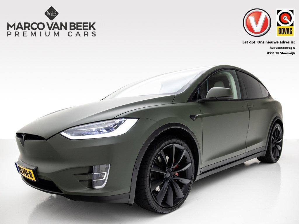 Tesla Model x 100d performance nw.prijs € 170.600 uniek! autopilot 2.0 ludicrous ex btw €82.520