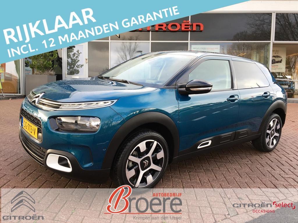 Citroën C4 cactus Pt 130pk shine pano dak navi lm