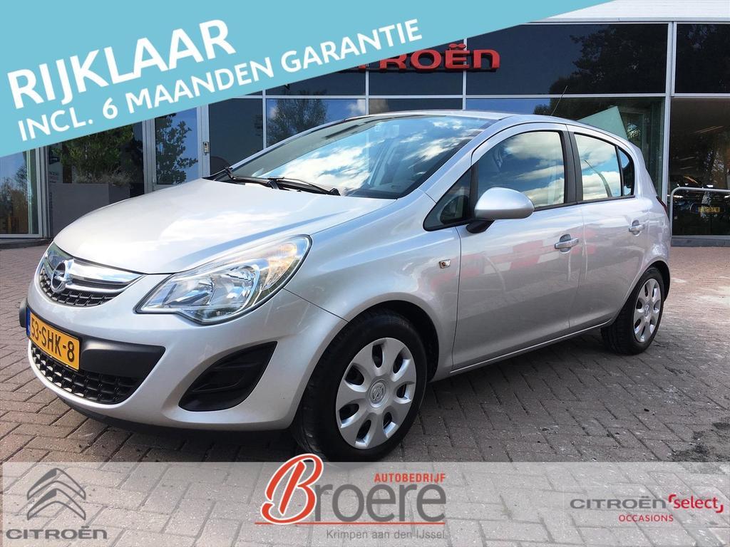 Opel Corsa 1.2 86 pk automaat 5d edition ac