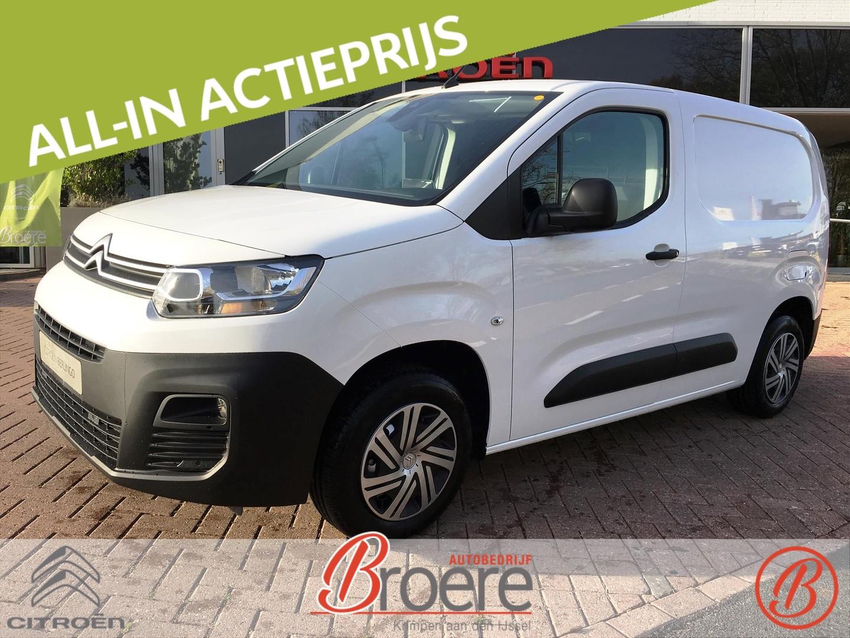 Citroën Berlingo Van club bluehdi 100 s&s 650kg