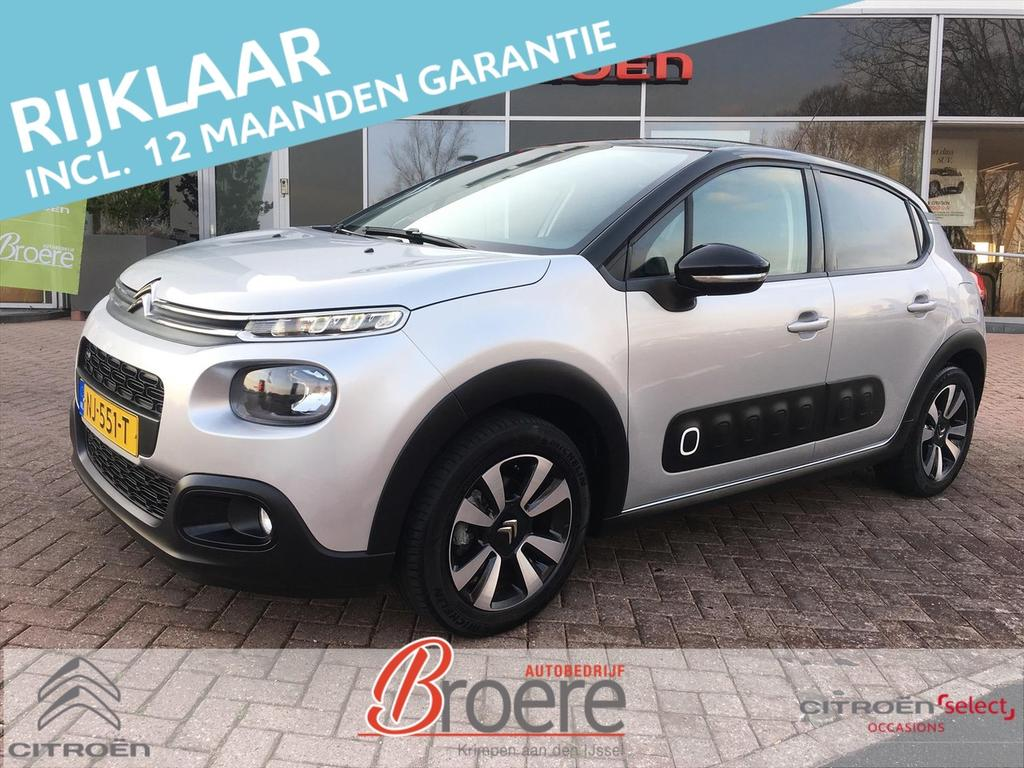 Citroën C3 Pt 82pk shine dab apple car play