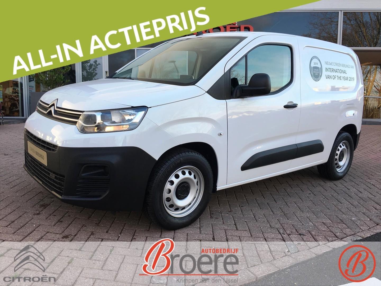 Citroën Berlingo Van bluehdi 100 s&s control