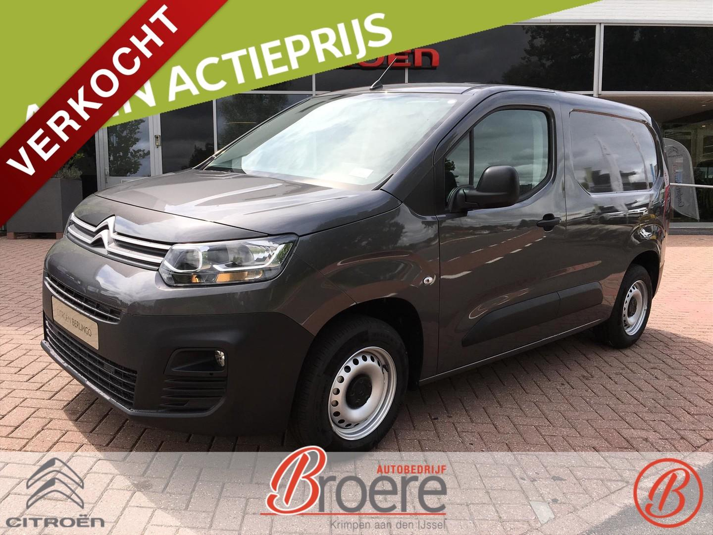 Citroën Berlingo 1.6 bluehdi 100pk s&s club 6.1
