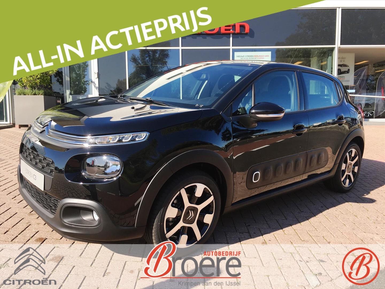 Citroën C3 1.2 puretech 110pk s&s shine