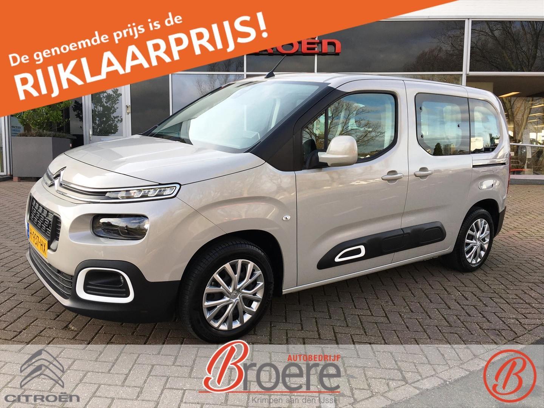 Citroën Berlingo 1.2 pt 110pk s&s feel navi / achterdeuren
