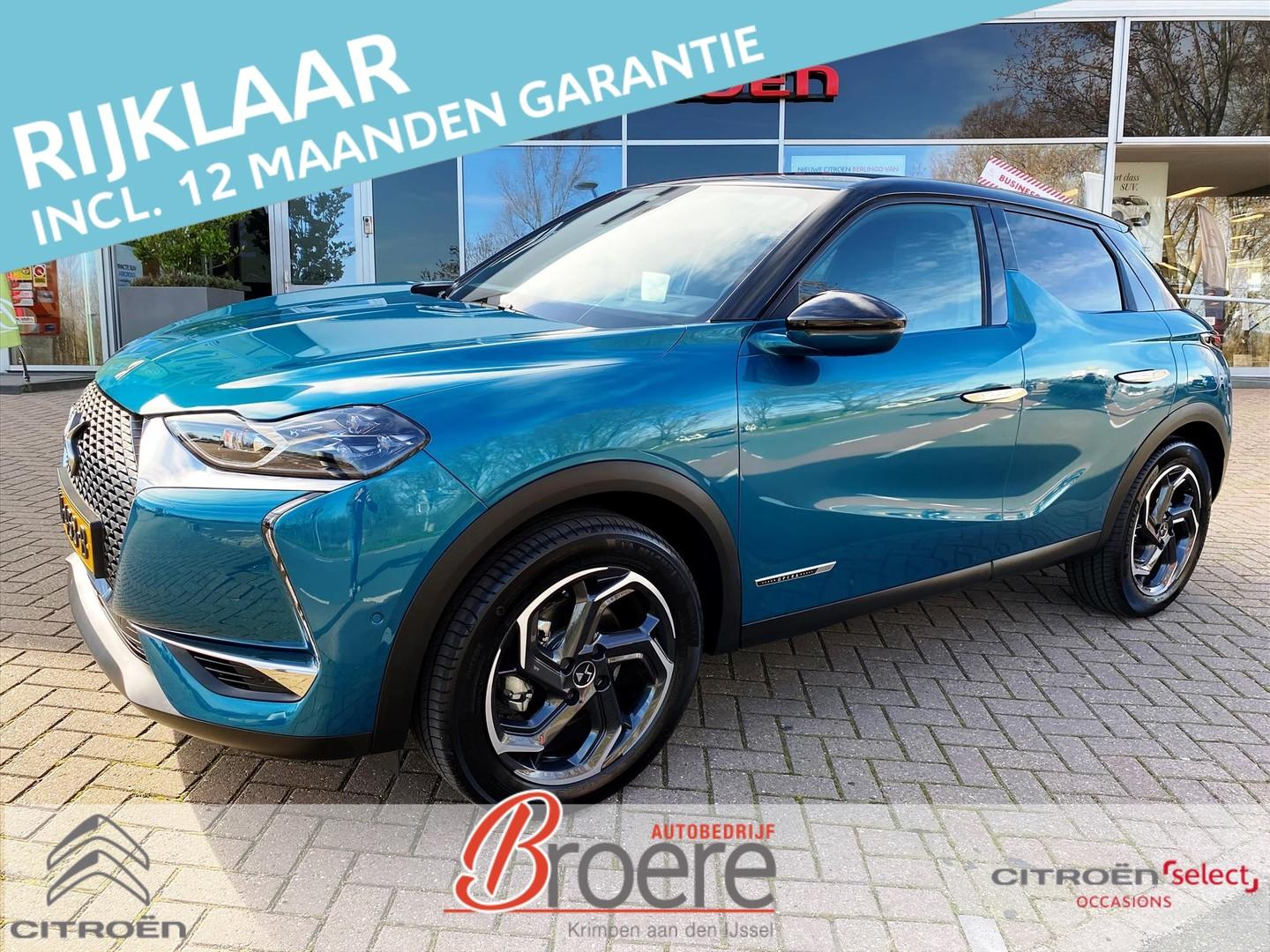 Ds Ds 3 crossback 1.2 puretech 130pk automaat grand chic full option