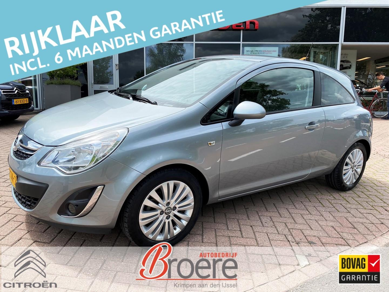 Opel Corsa 1.4 16v 3d edition navi lm velgen
