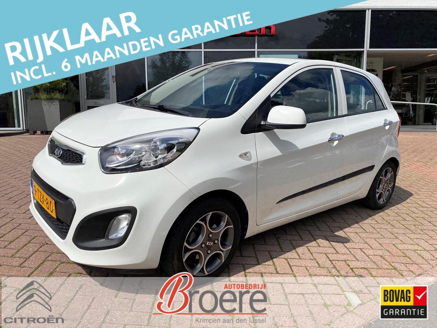 Kia Picanto 1.2 cvvt 85 pk 5d businessline trekhaak