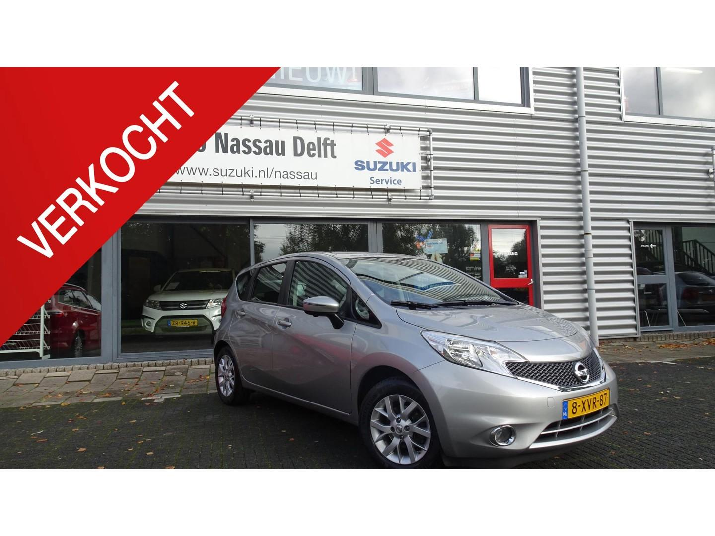 Nissan Note 1.2 connect edition airco navi trekhaak