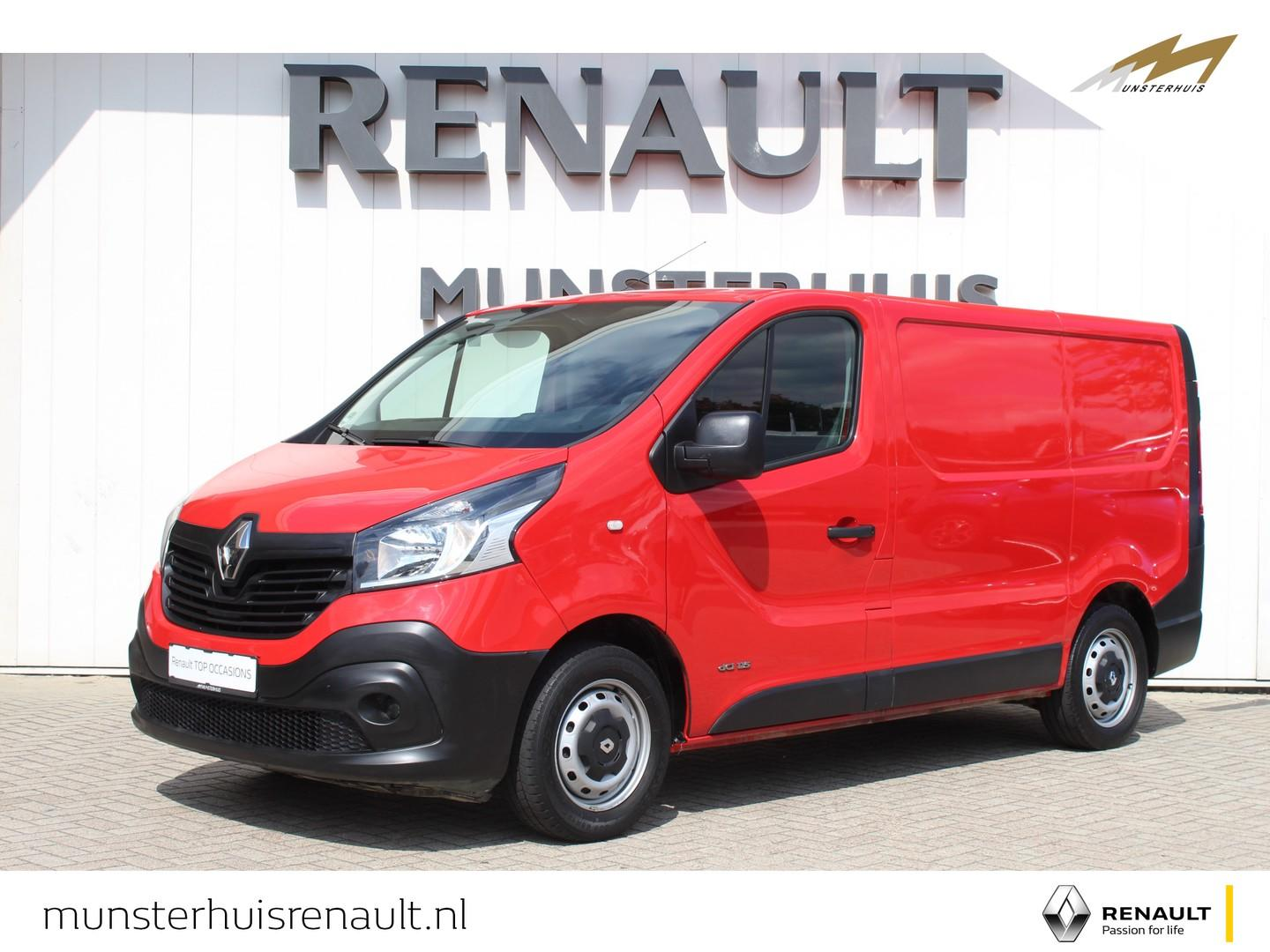 Renault Trafic 1.6 dci t27 115pk l1h1 comfort airco - bluetooth carkit