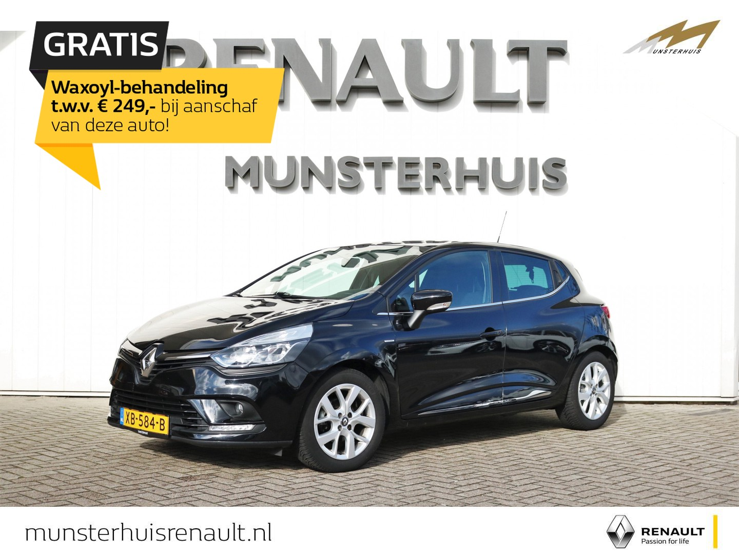 Renault Clio Tce 90 limited - all-season banden - pdc
