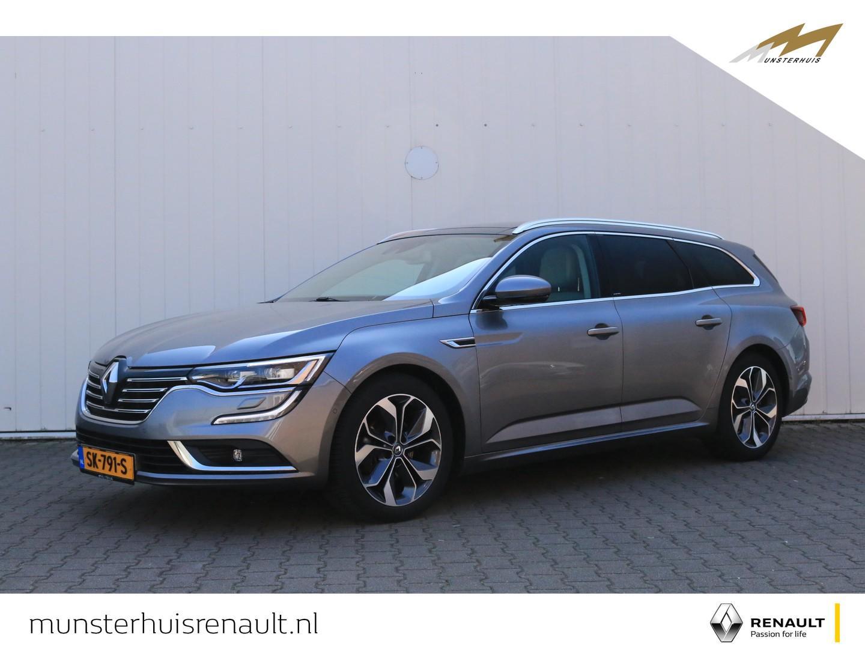 Renault Talisman estate Dci 130 edc limousin - automaat - panoramadak - inparkeer systeem - volledig lederen interieur - stoel verwarming -