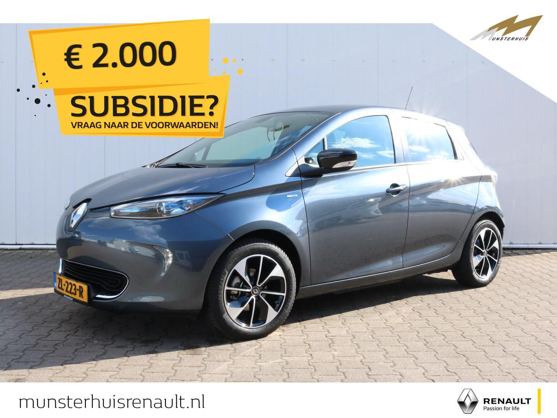 Renault Zoe R110 iconic 41 kwh - 4% bijtelling - demo - batterijkoop - €2.000,- overheidssubsidie