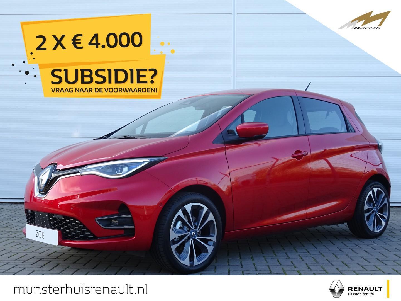Renault Zoe R135 intens z.e. 50 - batterijhuur - nieuw model - wordt verwacht !