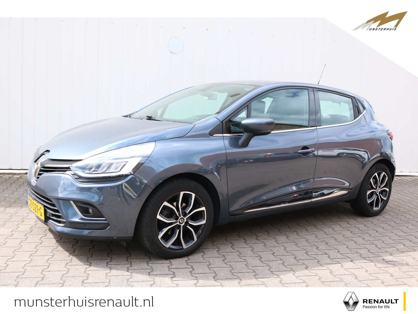 Renault Clio Tce 90 intens - led pure vision - inparkeersysteem