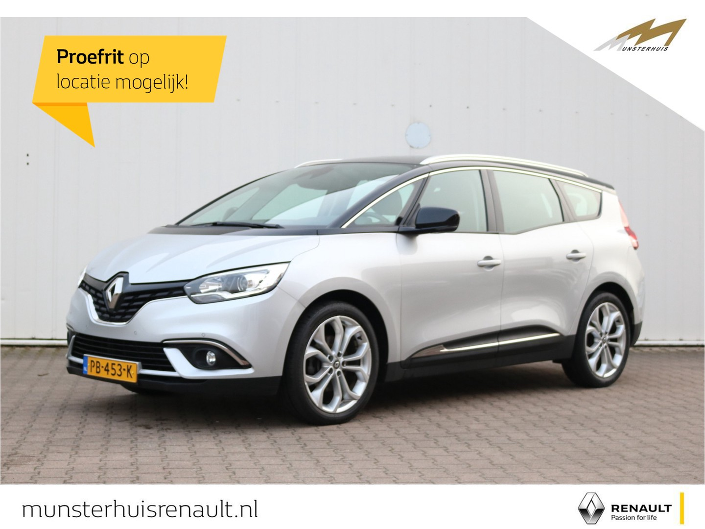 Renault Grand scénic Tce 130 zen deluxe - 7-persoons