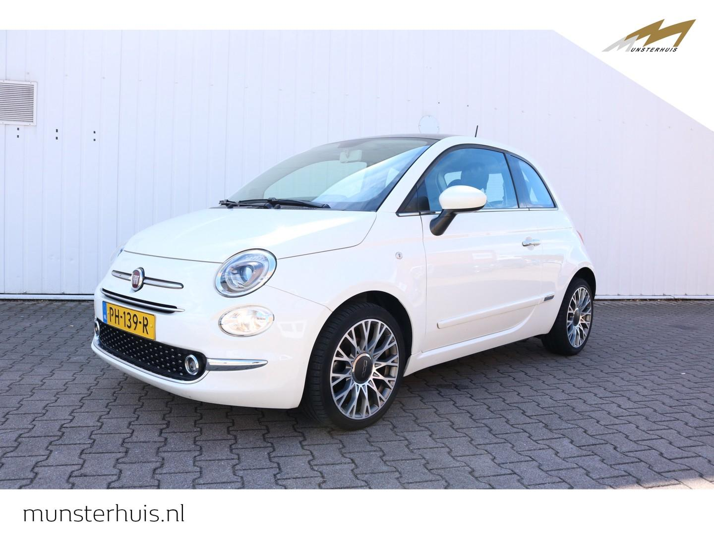 Fiat 500 Twinair turbo 80pk lounge - panoramadak