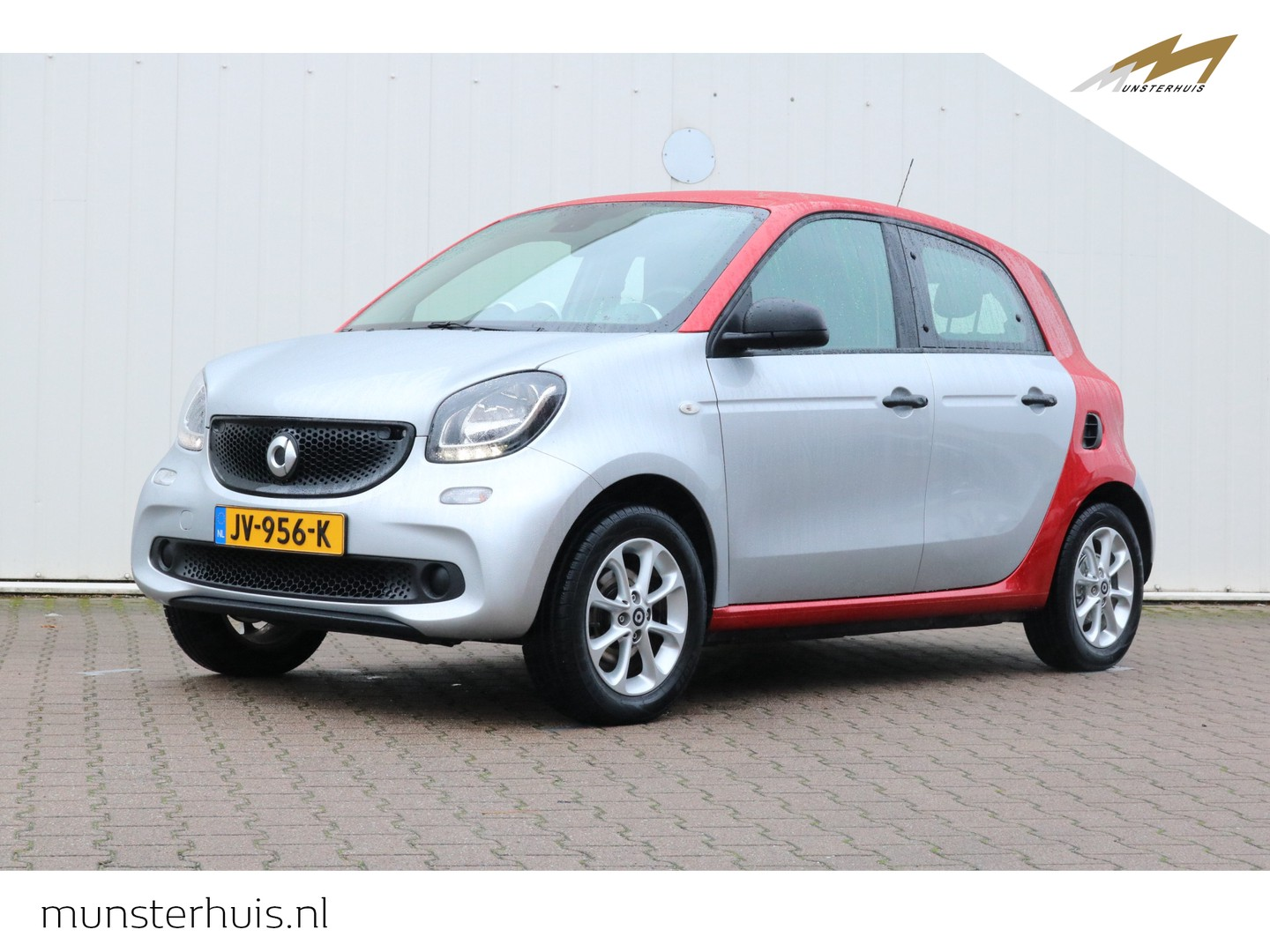 Smart Forfour 1.0 pure at - automaat - 4 persoons