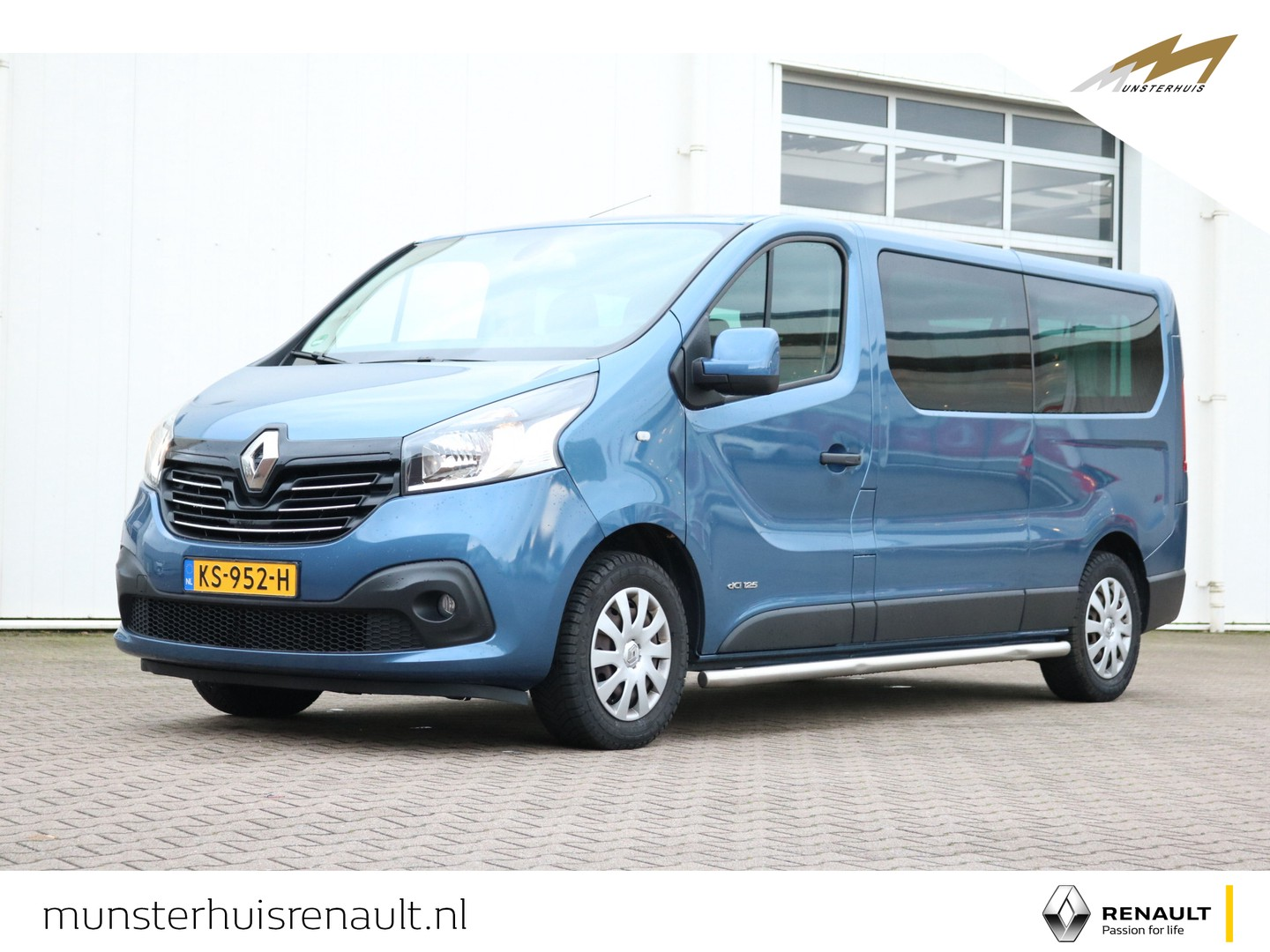 Renault Trafic Grand passenger dci 125 tt stop & start expression - all season - side bars - achterklep - achteruitrij camera