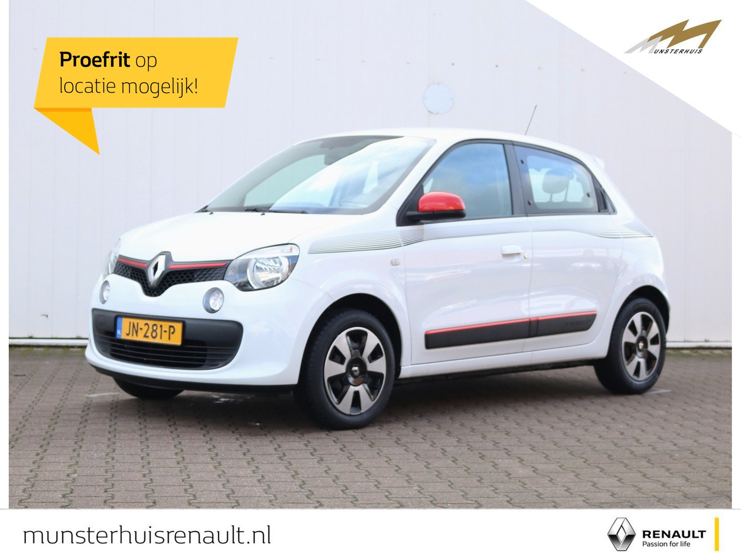 Renault Twingo Sce 70 collection - airco - r&go multimedia