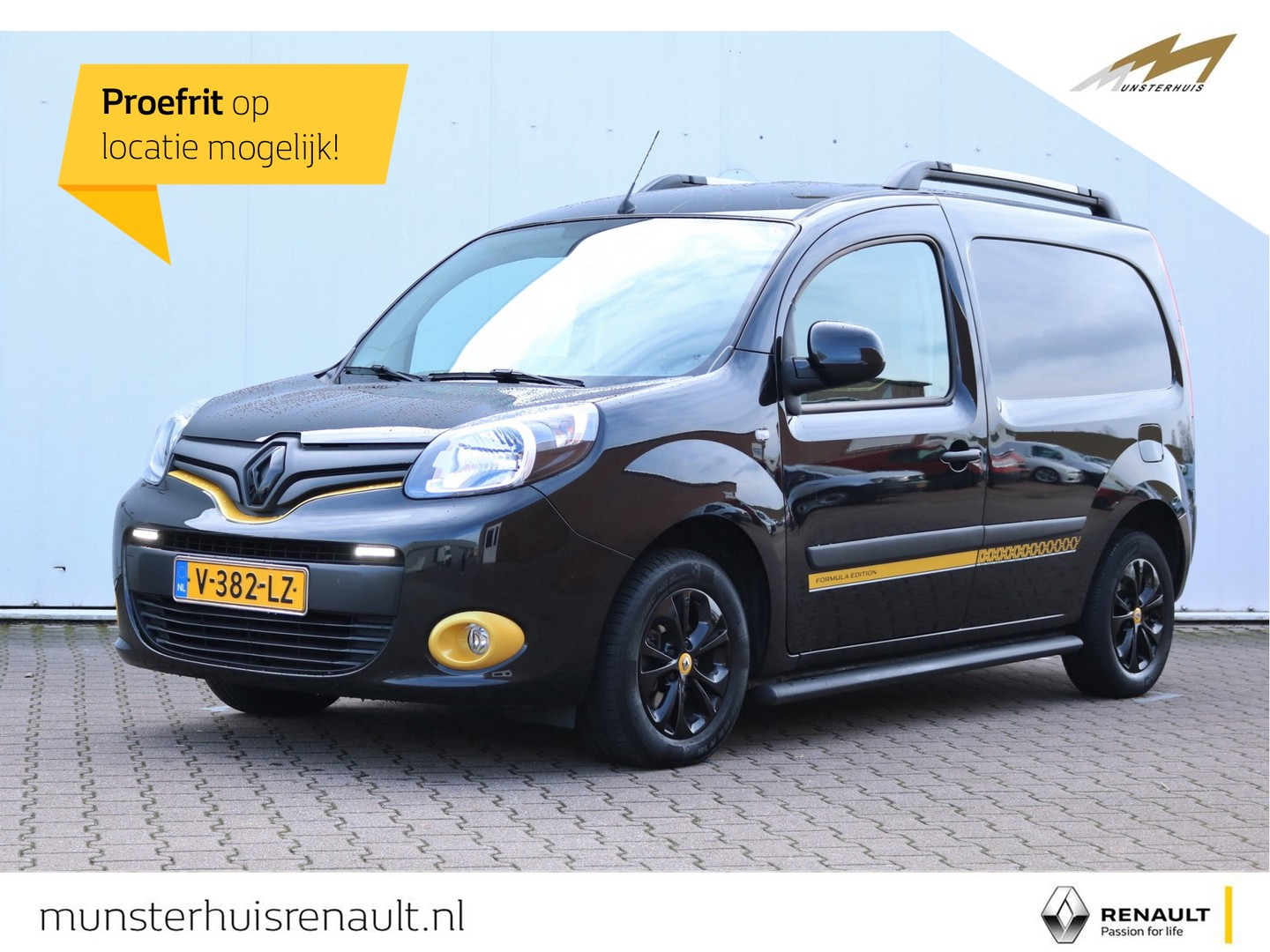 Renault Kangoo Energy dci 90 edc formula edition - automaat - speciale uitvoering !