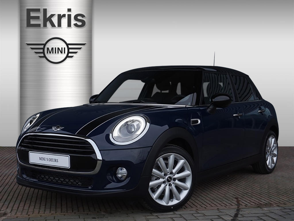 Mini 5-deurs Cooper aut. serious business + jcw interieur