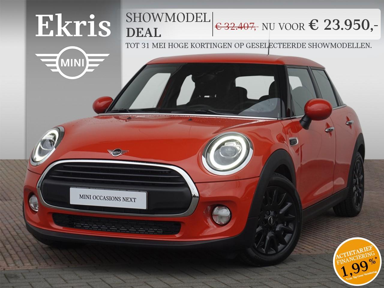 Mini 5-deurs One aut. pepper + business plus - showmodel deal