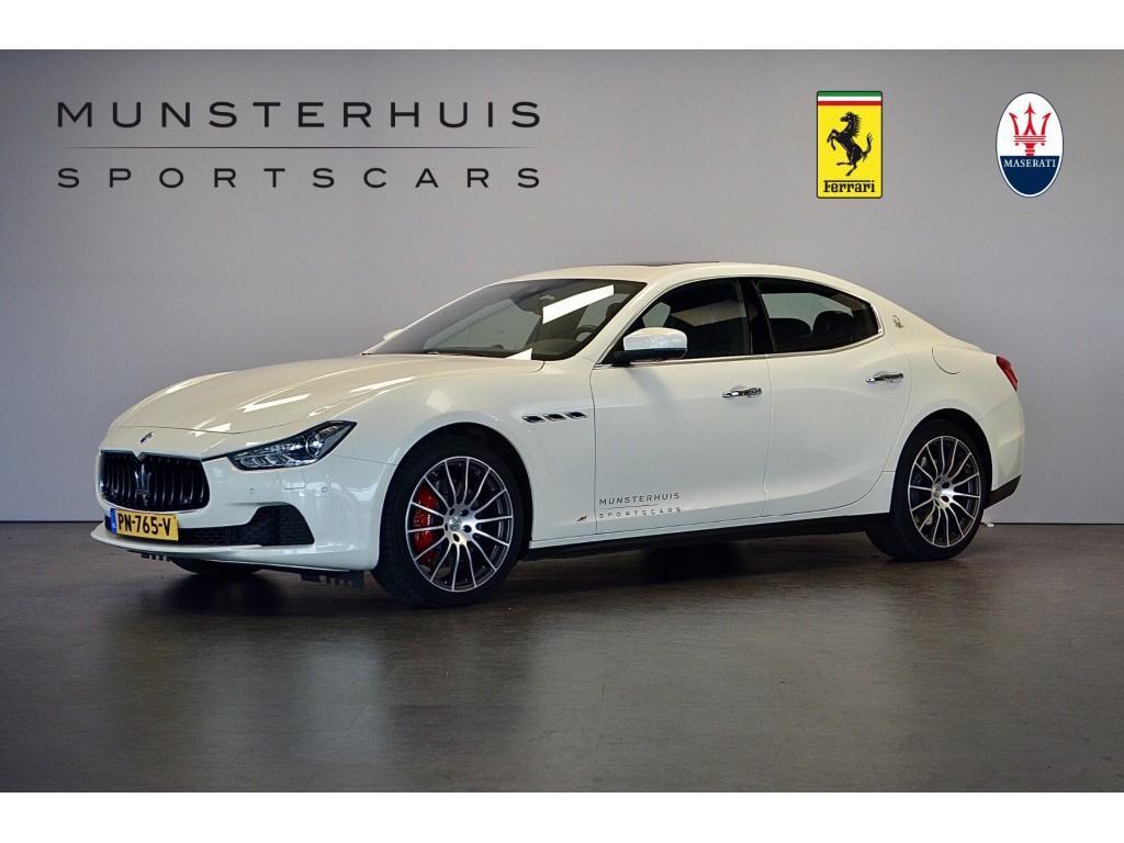Maserati Ghibli 3.0 v6 d sport / schuif-kantel/ vol!!
